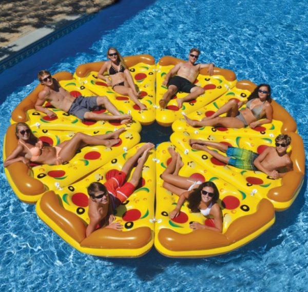 flotadores para fiesta piscina