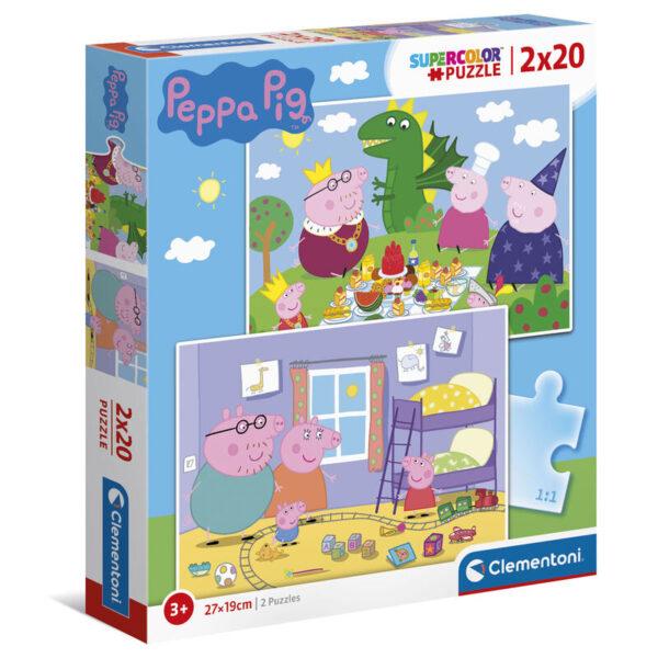 puzle pepa pig